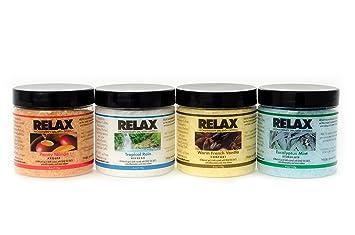 Amazoncom Original Aroma Therapy Scented Bath Spa Salt Crystals