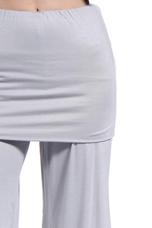 24/7 Comfort Apparel Women's Elastic Waist Stretch Capri Pants CF529