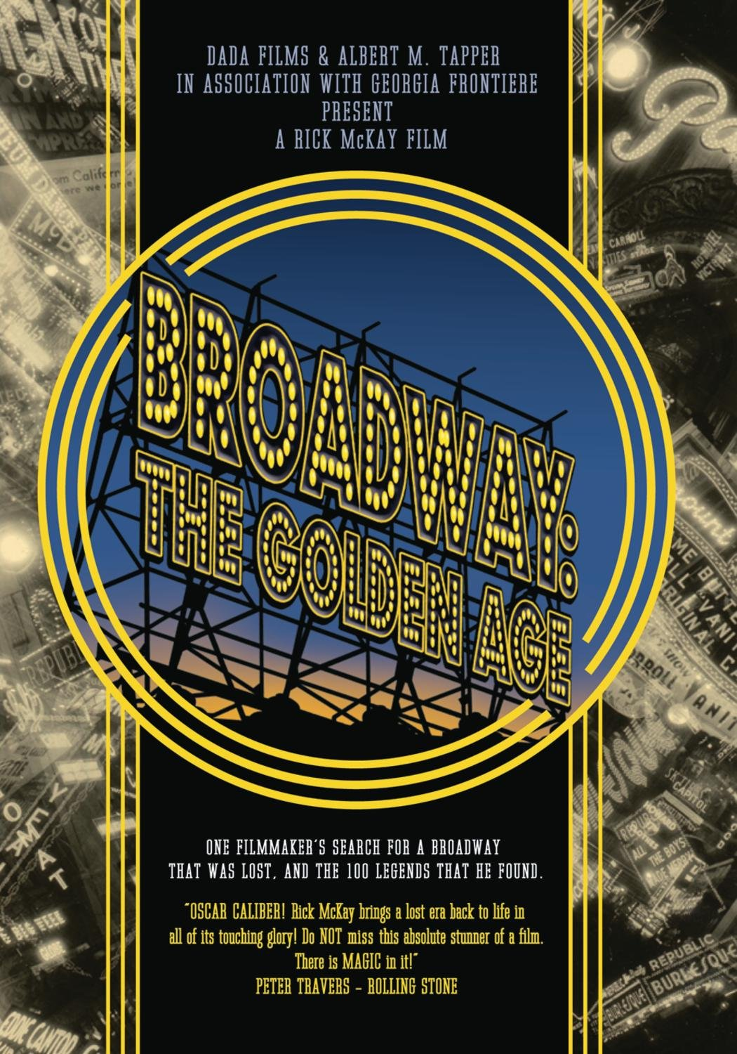 Amazon.com: Broadway - The Golden Age, by the Legends Who Were There:  Marlon Brando, Bonnie Franklin, Tammy Grimes, Uta Hagen, Al Hirschfeld,  Jeremy Irons, ...