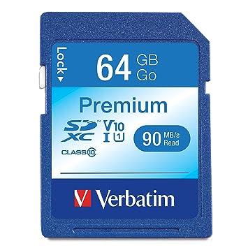 Verbatim 44024 - Tarjeta de memoria SecureDigital SDXC 64 GB clase 10