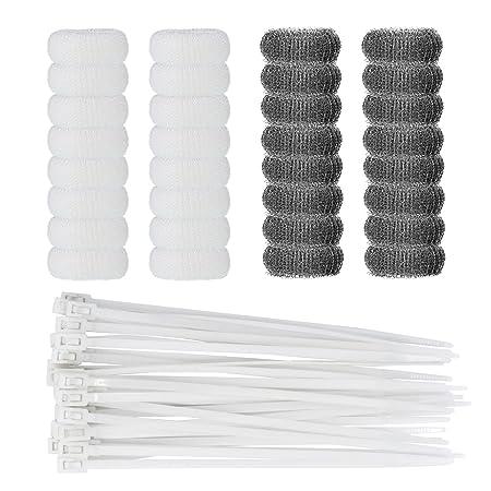 Shappy 32 piezas lavadora Lint filtro de trampa lavandería ...