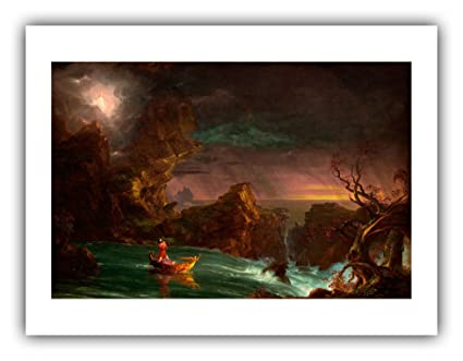 6394222ed3 Amazon.com: Renfield's Fine Art - Thomas Cole : ''The Voyage Life ...