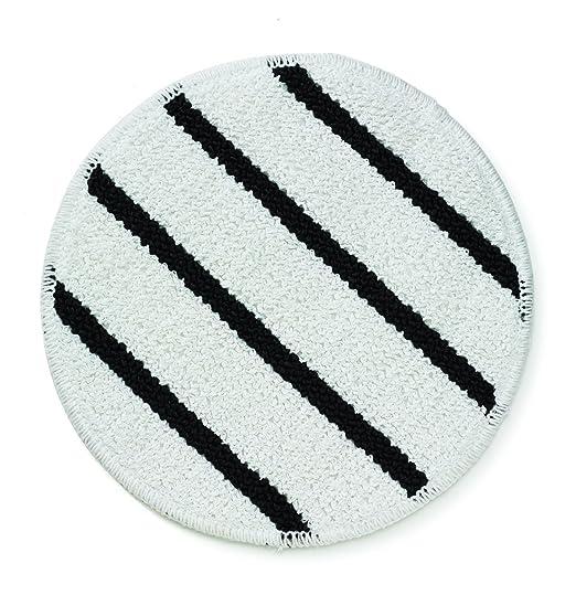 White RUBBERMAID Carpet Bonnet,19 In,White FGP11900WH00