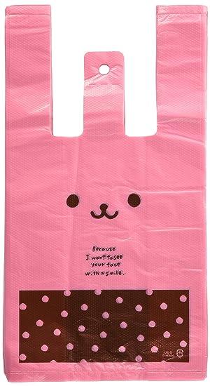 466faaf41ea Amazon.co.jp: 手提げ袋 レジ袋 うさこ-S (100枚) US-S: ホーム&キッチン