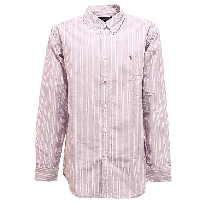 Shirt Boy Cotton Polo Violet Ralph By Lauren Bimbo Camicia 3367v Kid trBsxhdCQo