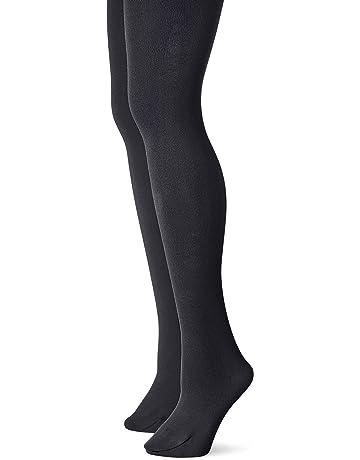 d1b7c4320a0ee Muk Luks Women's Fleece Lined 2-Pair Pack Tights