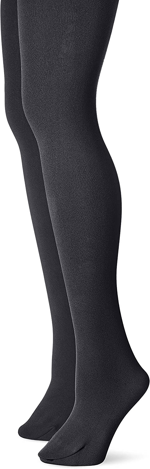 Muk Luks Women's Fleece Lined 2-Pair Pack Tights at  Women's Clothing store