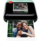 Zink Polaroid WiFi Wireless 3x4 Portable Mobile Photo Printer (Green) with LCD Touch Screen, Compatible w/iOS & Android