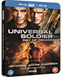 Universal Soldier Day Of Reckoning Steelbook (Blu-ray 3D + Blu-ray) [2012]