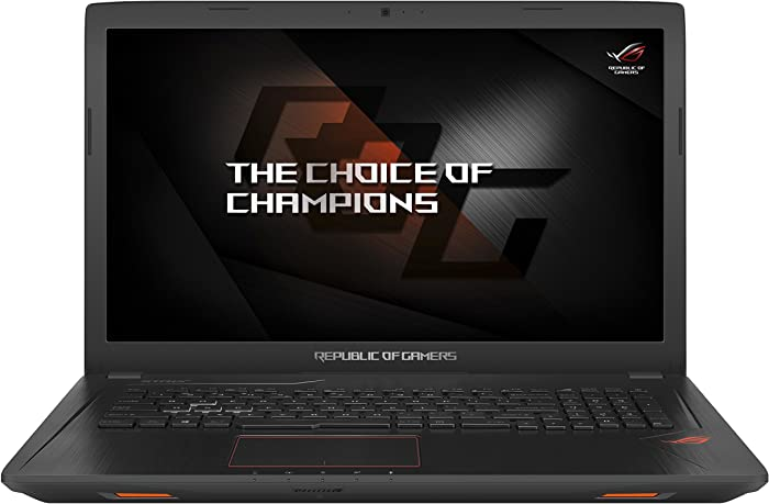 "ASUS ROG GL753VE Gaming Laptop 17.3"" FHD (1920 x 1080) Glossy Display Intel 7th Gen i7-7700HQ 16GB RAM 1TB HDD + 128GB SSD 4GB NVIDIA GeForce GTX 1050Ti Graphics Metalic Black"