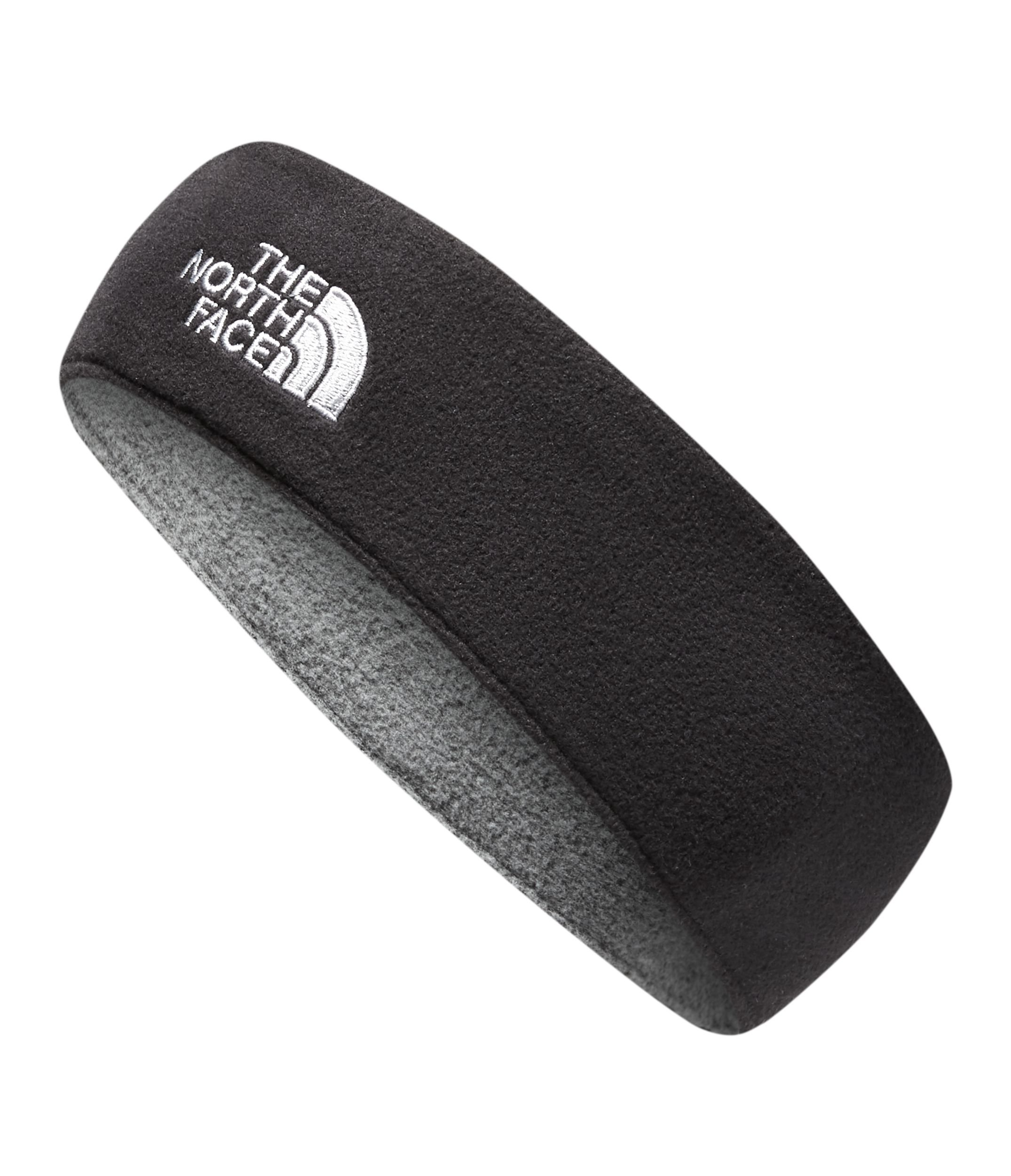 The North Face Kids Unisex Standard Issue Earband (Big Kids) TNF Black/TNF Medium Grey Heather MD