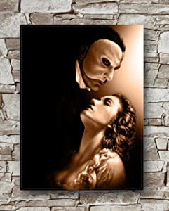 Zero.o The Phantom of The Opera Poster Standard Size   18-Inches by 24-Inches   The Phantom of The Opera Posters Wall Poster Print