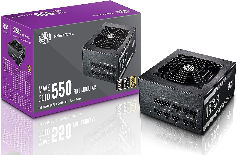 Cooler Master Mwe 550 Gold Full Modular 550W 80Plus Gold Fuente de alimentaci/ón para PC ATX Modular
