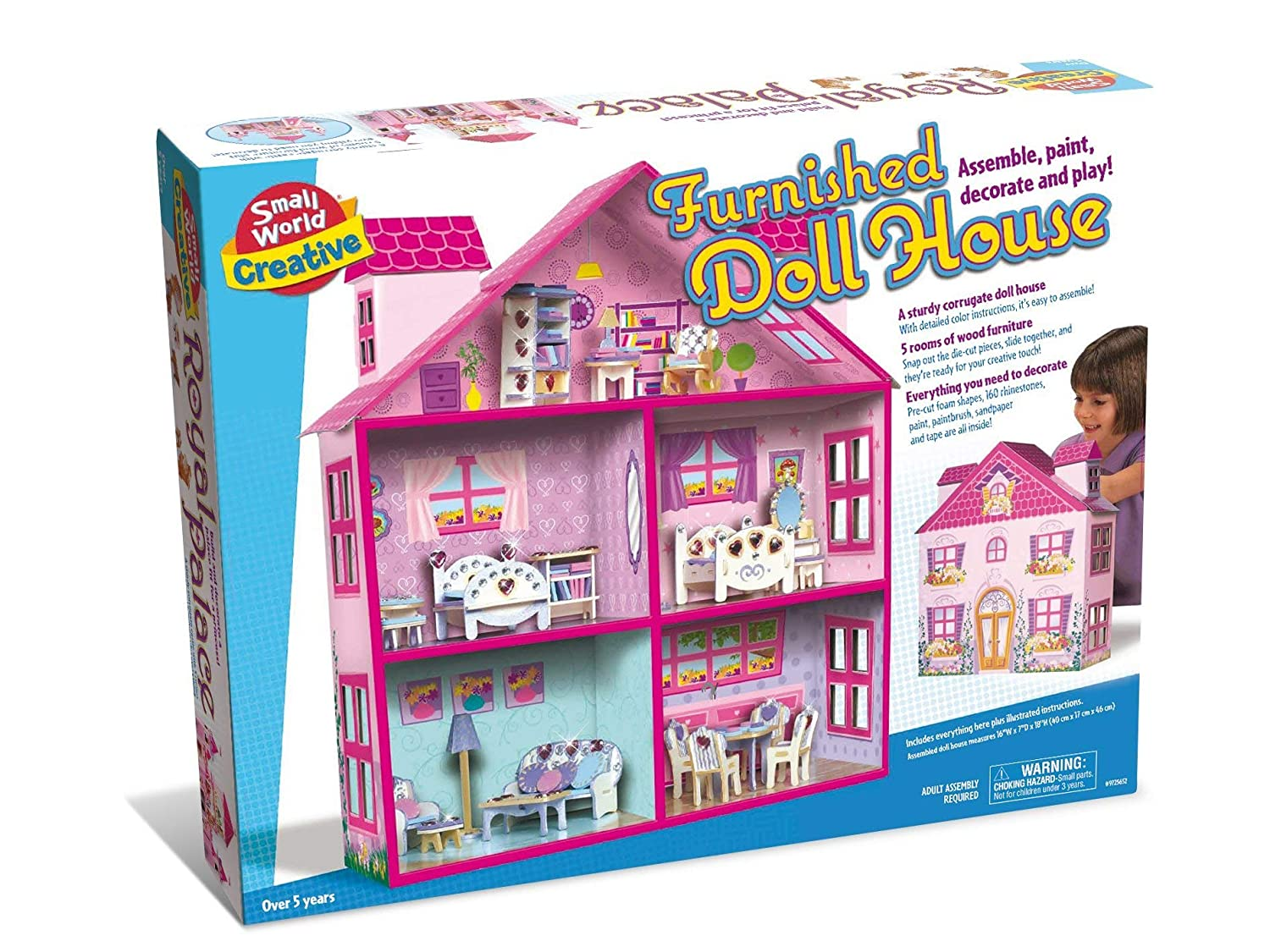 Buy Small World Toys Creative Furnished Doll House Online At Low