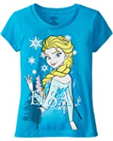 "Disney Little Girls' ""Frozen"" Elsa Tee (Kid) - Cancun"