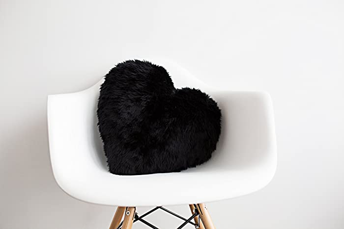 Amazon Black Pillow For Home Decor Or Nursery Heart
