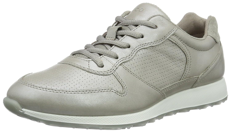ECCO Women's Sneak Retro Tie Fashion Sneaker B01FFZQ4AY 36 EU/5-5.5 M US|Moon Rock/Silver/Moon Rock