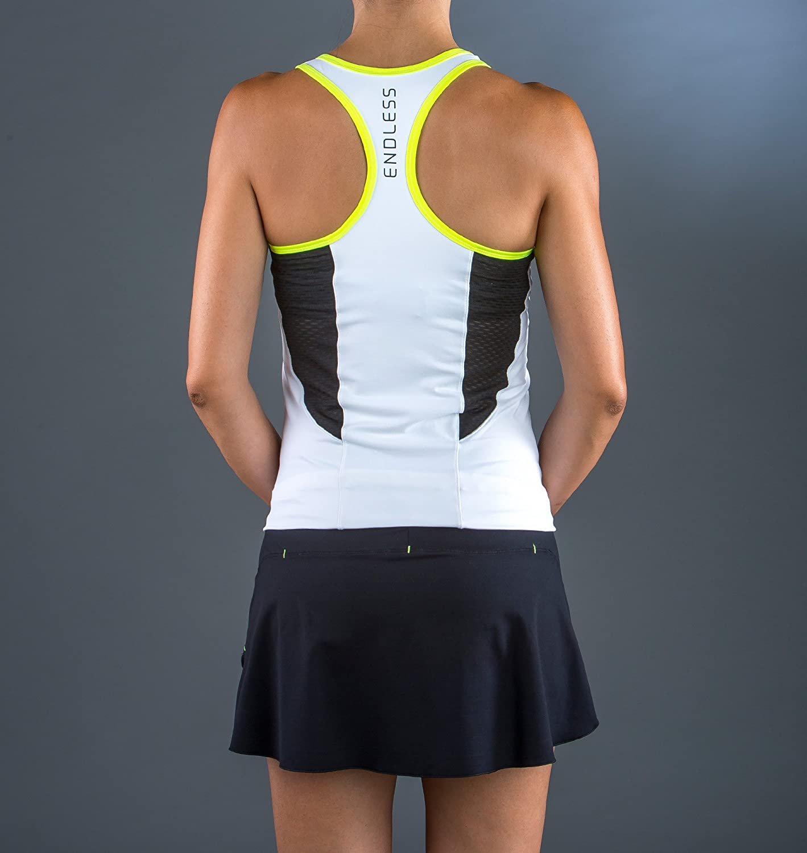 ENDLESS Break Set de Tenis, Mujer, Blanco, L: Amazon.es ...
