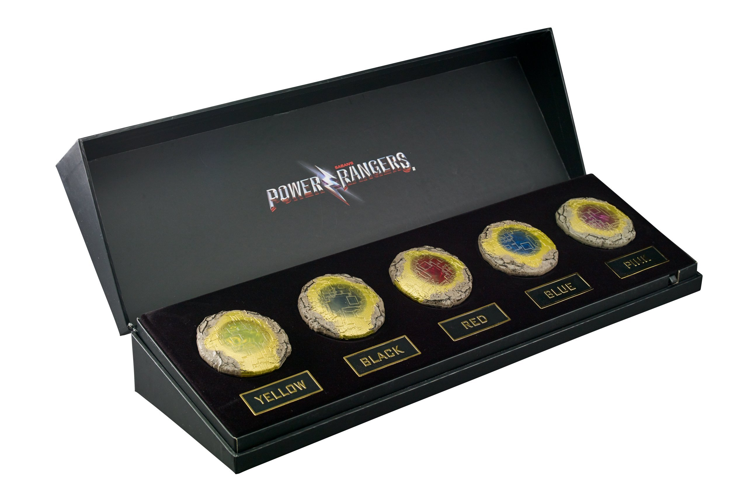 Power Rangers Movie Legacy Coins by Power Rangers (Image #1)