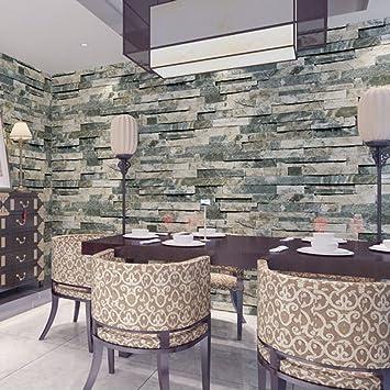 Retro Chinesischen Stil Backstein Tapete Wohnzimmer Restaurant ...