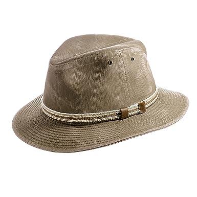 c70e2d29bb3 Mayser Men s Traveller Hat Menowin - khaki  Amazon.co.uk  Clothing