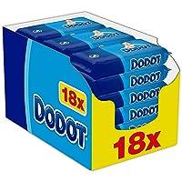 Dodot - Toallitas para bebé, 18 paquetes