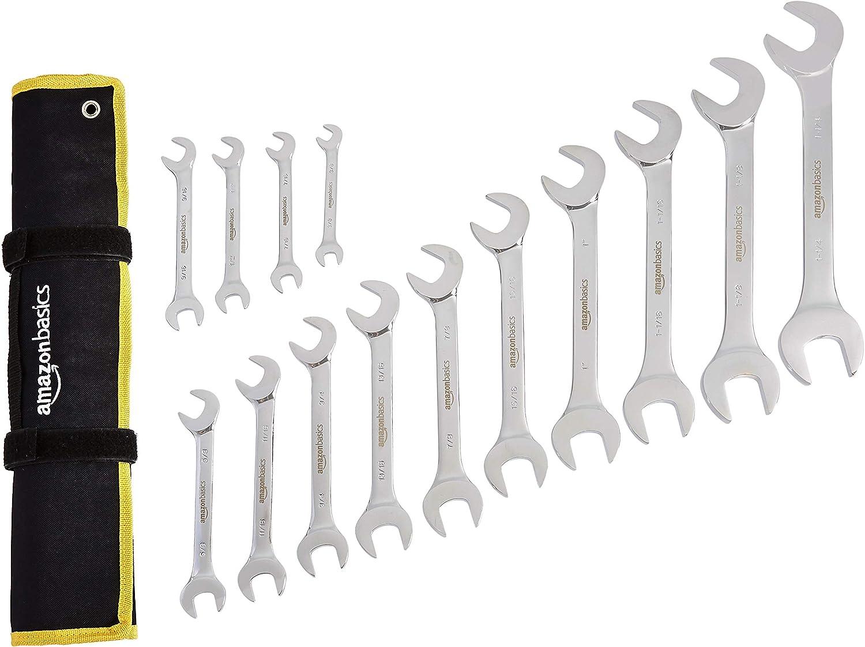 Basics Angled Wrench Set SAE 14-Piece
