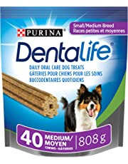 DentaLife Daily Oral Care Small & Medium Breed Dental Dog Treats - 40 ct Pouch