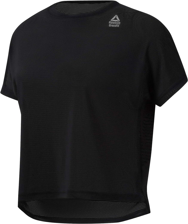 Reebok Damen Rc Jacquard Tee Hemd
