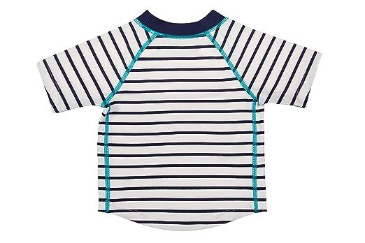 4c1fce350cd53 Lassig Splash and Fun Baby Short Sleeve Rashguard Swim Shirt Boys  UV-protection 50+