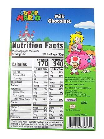 Super Mario Deluxe – Huevo de Pascua de chocolate de leche ...