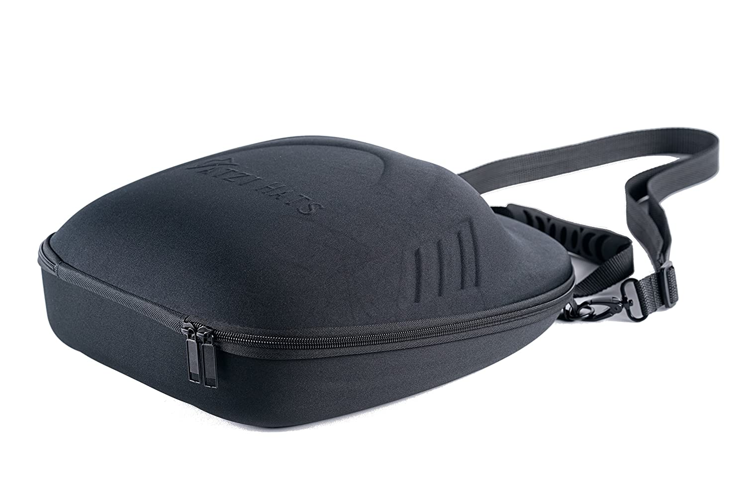 Atzi Hats Fedora Travel Case with Shoulder Strap Semi Crush Proof Hat Box   Amazon.co.uk  Clothing a1bccdf5840