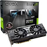 EVGA GeForce GTX 1060 6GB FTW+ DT GAMING ACX 3.0, 6GB GDDR5, LED, DX12 OSD Support (PXOC) Graphics Card 06G-P4-6366-KR