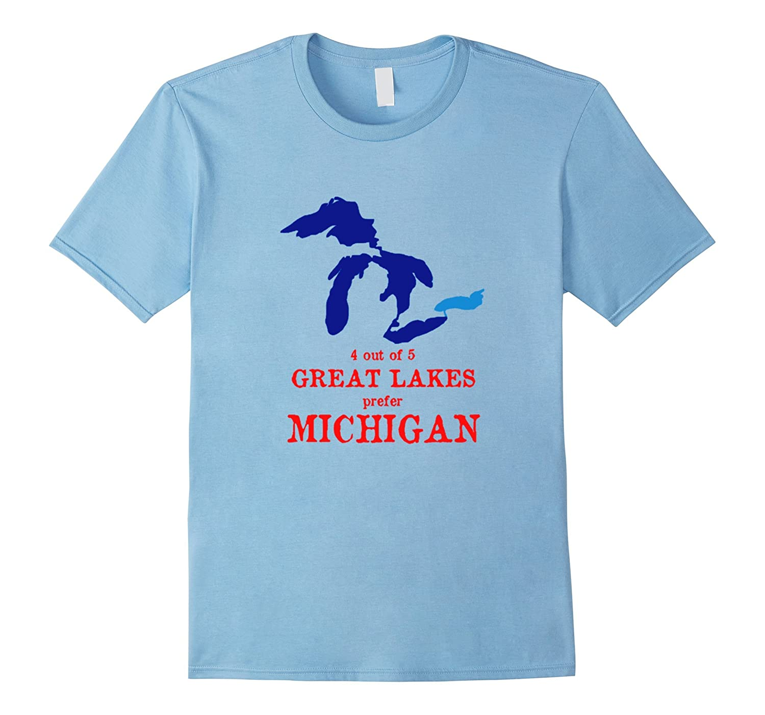 4 out of 5 Great Lakes Prefer Michigan Shirt-TH