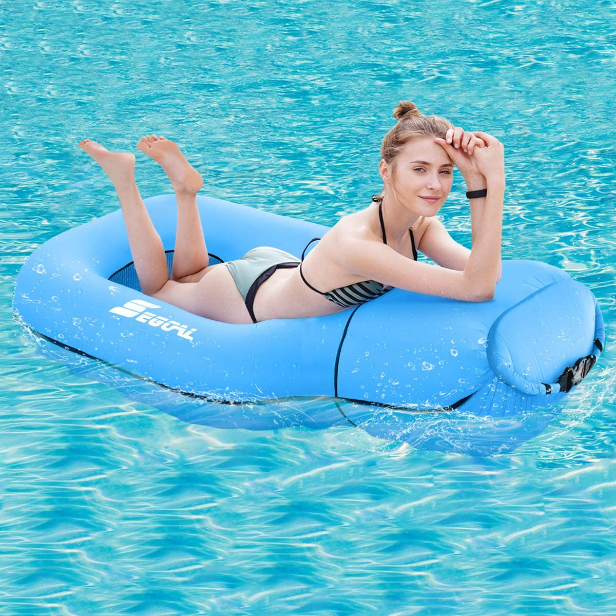 Inflatable Swimming Rafts Water Hammock Adult Hammock Pool Floats