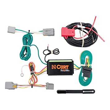 CURT 56218 Vehicle-Side Custom 4-Pin Trailer Wiring Harness for Select Ford  Transit Connect
