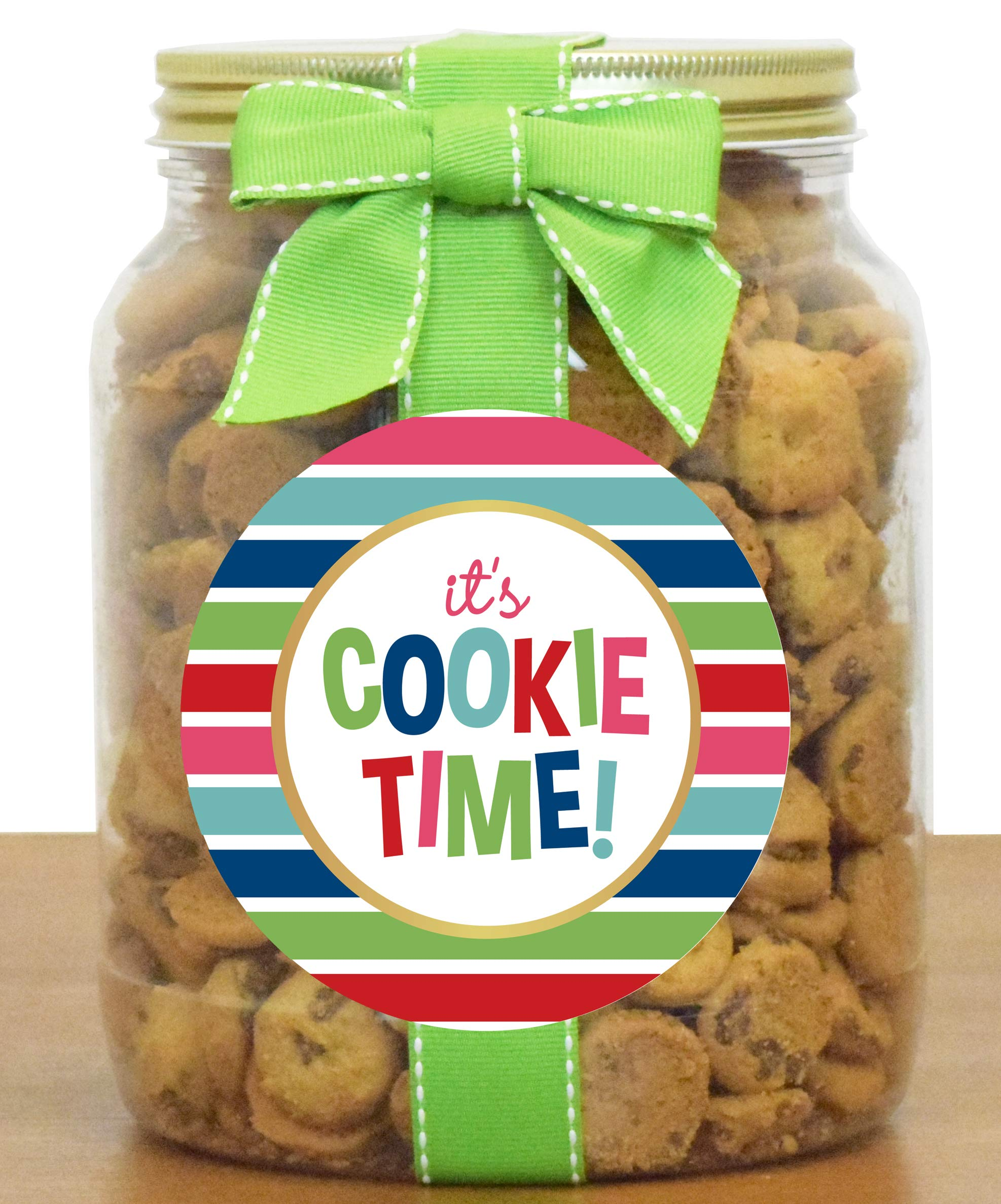 Nam's Bits Chocolate Chip Cookies -''It's Cookie Time'' (CSCT) (Half Gallon (20oz))