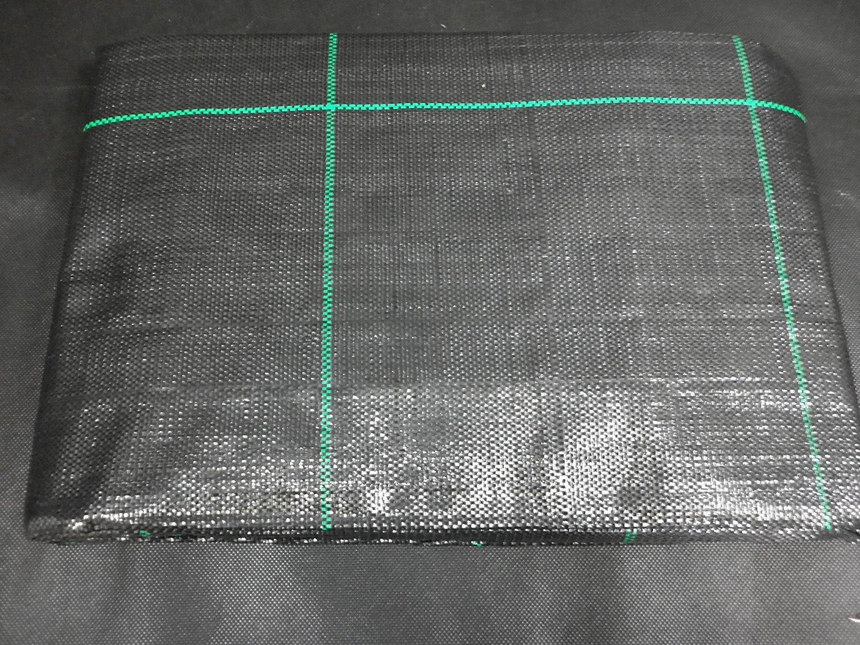 Anti Unkraut 1,5 x 100m Folie Gartenvlies Bändchengewebe Mulchfolie Bodengewebe