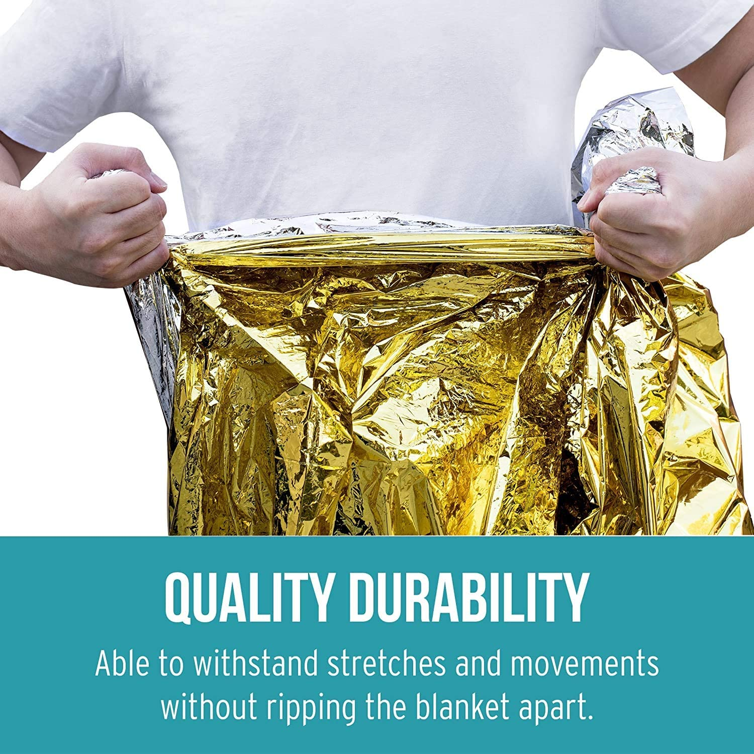 Marathon Running Prepper 4 Pack Extra Large Thermal Mylar Foil Space Blanket Heat Sheets for Camping Bug Out /& Outdoor Survival Gear Hiking ROYAL WIND Emergency Blankets First Aid Kits