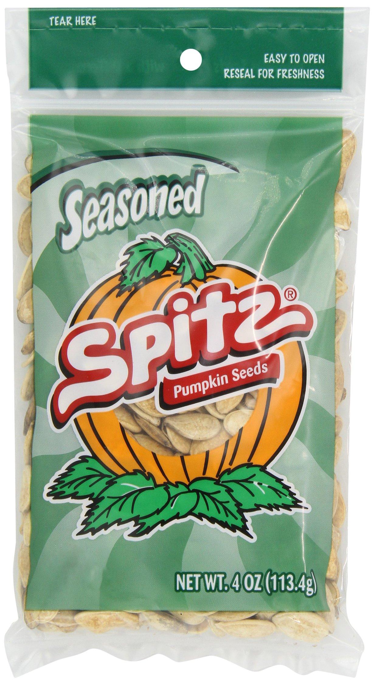 Spitz Pumpkin Seeds Seasoned, 4-Ounce (Pack of 12)