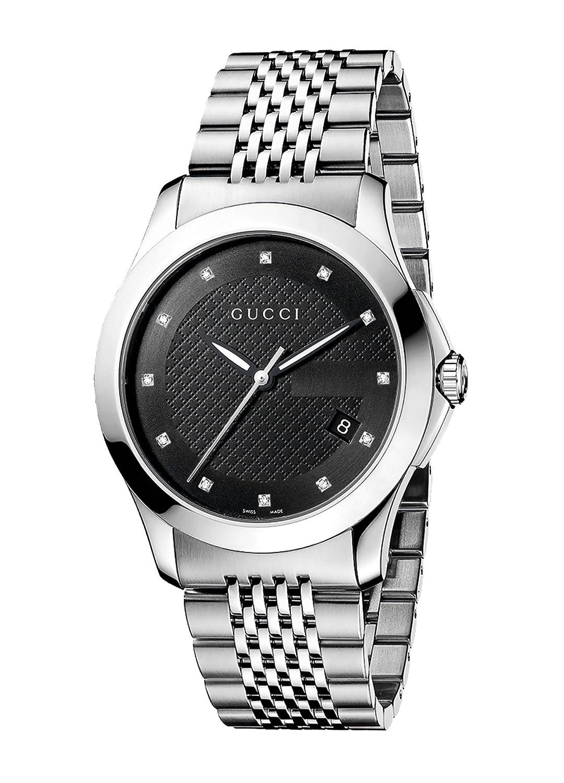 68794a96999 Amazon.com  Gucci Gucci Timeless Men s Watch(Model YA126405)  Gucci  Watches