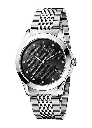 b4cb3ee6dd7 Amazon.com  Gucci Gucci Timeless Men s Watch(Model YA126405)  Gucci ...