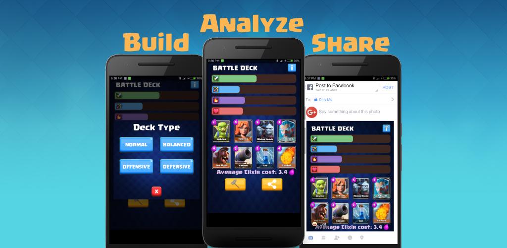 deck builder for clash royale appstore for android. Black Bedroom Furniture Sets. Home Design Ideas