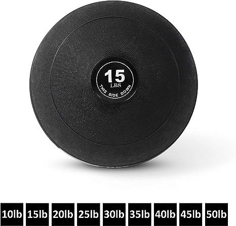 Pelota de Slam con peso por día 1 Fitness – 9 tamaños disponibles ...