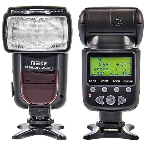 Meike MK-950 II flash (LZ 53) para Canon cámaras réflex digitales ...