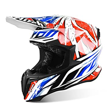Airoh Casco Twist Leader – Gloss, mujer Hombre, rojo