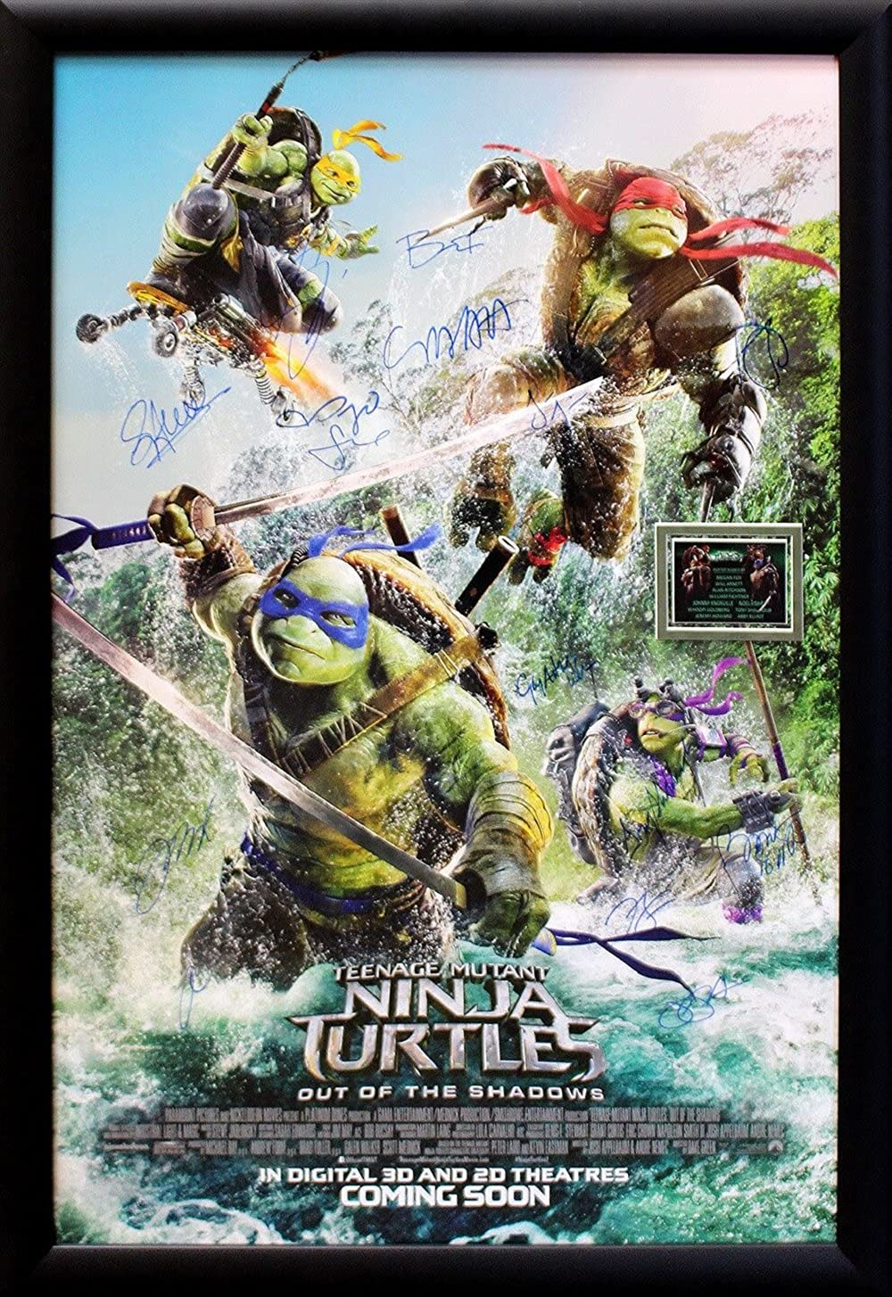 Amazon.com: Teenage Mutant Ninja Turtles - Signed Movie ...