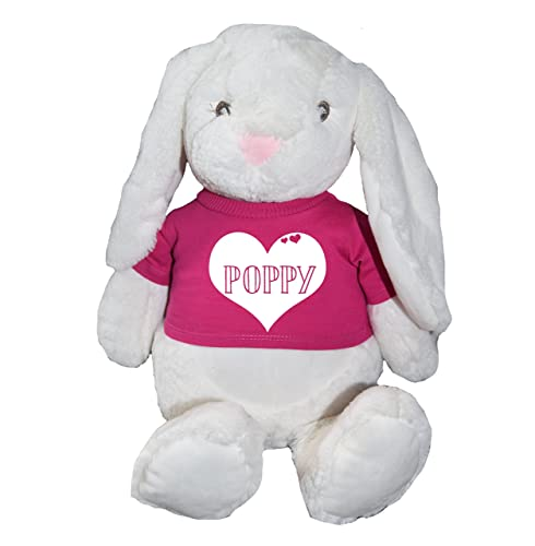 Floppy the bunny soft personalised name in heart large teddy bear floppy the bunny soft personalised name in heart large teddy bear birthday gifts baby gifts baby negle Image collections
