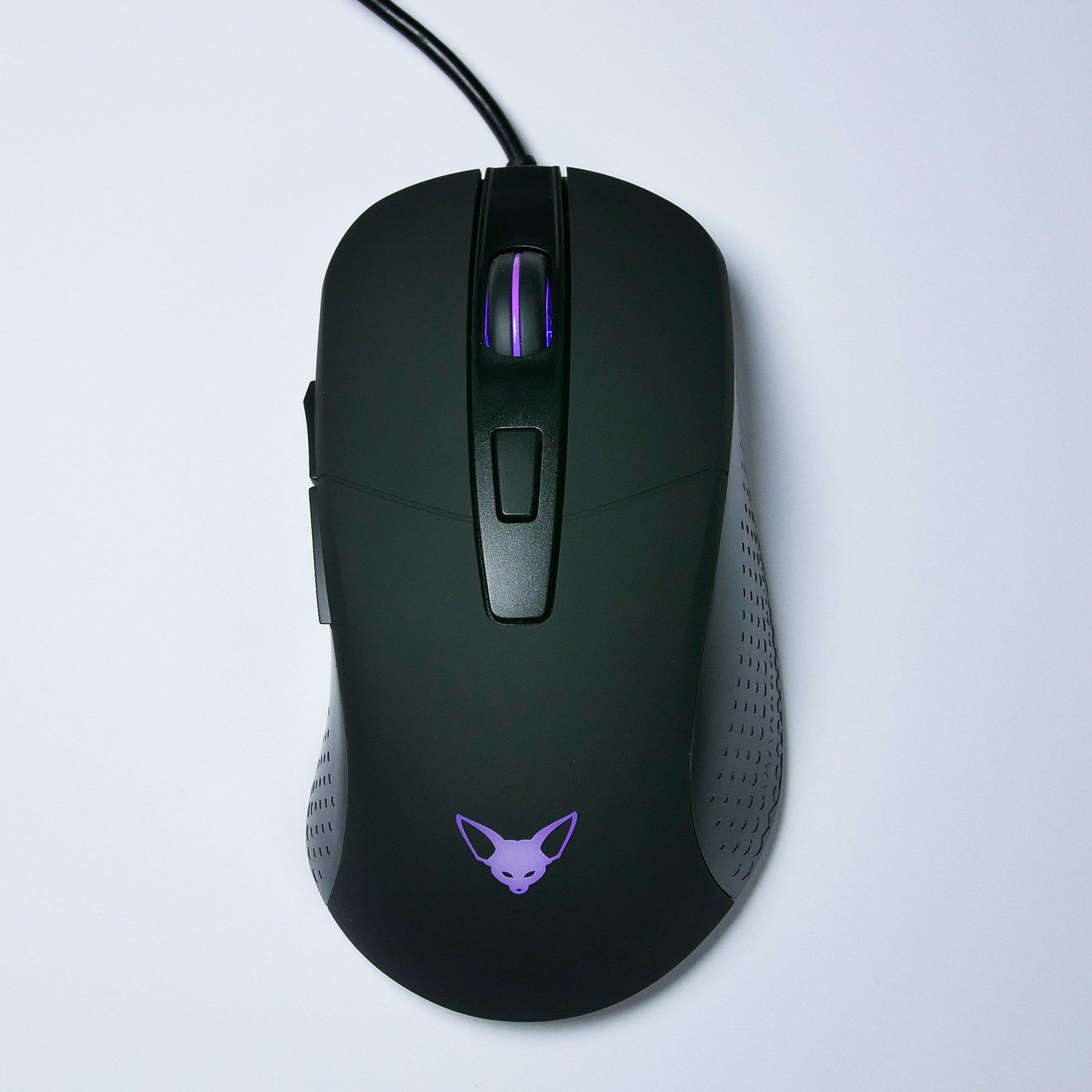 Mouse Gamer : Fenek Swift PMW 3360 Sensor