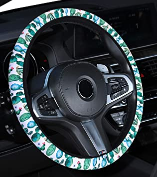 flowers new Mayco Bell 2016 Automotive Women Cute Car Steering Wheel Cover